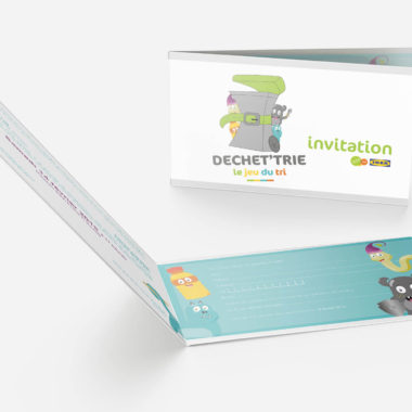 Invitation Dechet'trie