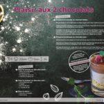 Recette plaisir aux 2 chocolats