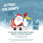 Offre Noël instagram Poule des Champs